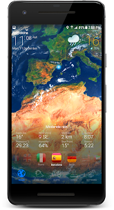 3D EARTH PRO – local weather forecast & rain radar 3