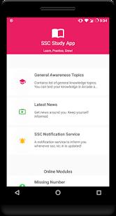 SSC Study App - náhled
