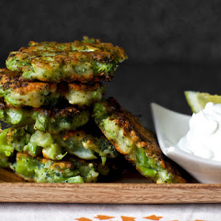 Broccoli Parmesan Fritters Recipe