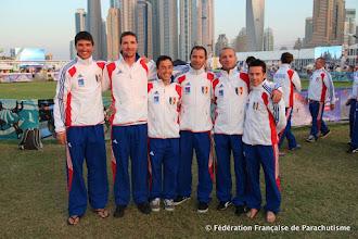 Photo: L'équipe de VRV  @ Dubaï, WPC 2012