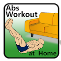 30 days abs workout challenge at home icon