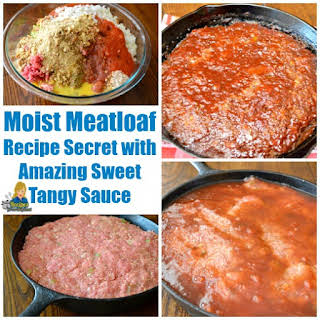 Moist Meatloaf-Recipe Sauce.