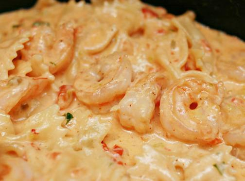 Mom's Shrimp Pasta Recipe
