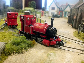 Photo: 018 Another view of John Spratley's modified Skarloey