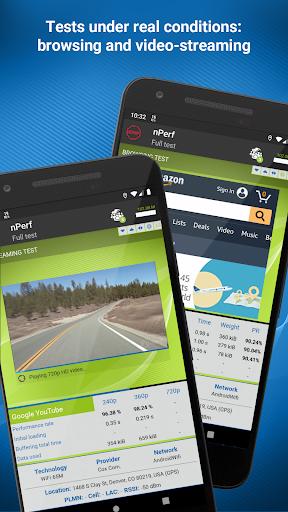 Speed test 3G, 4G, 5G, WiFi & network coverage map screenshot 2