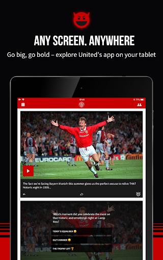 Manchester United Official App 6.2.4 screenshots 10