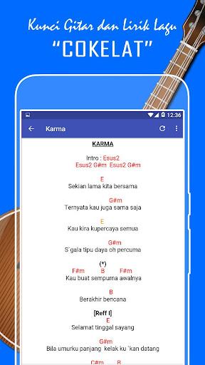 Kunci Gitar Karma Coklat : kunci, gitar, karma, coklat, Kunci, Gitar, Lirik, Cokelat, Lengkap, Download, APKPure.live