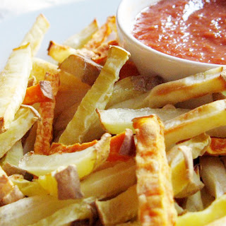 Baked French Fries & Ketchup