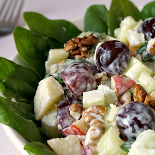 Best ever Waldorf salad.