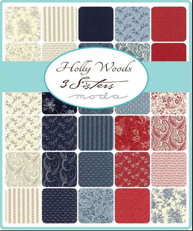 Holly Woods by 3 Sisters, MODA, Jelly Roll (11382)