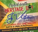 Je'Vista : Heritage Day : Je'Vista Social Café Jeffrey's Bay