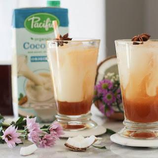 Coconut Thai Iced Tea.