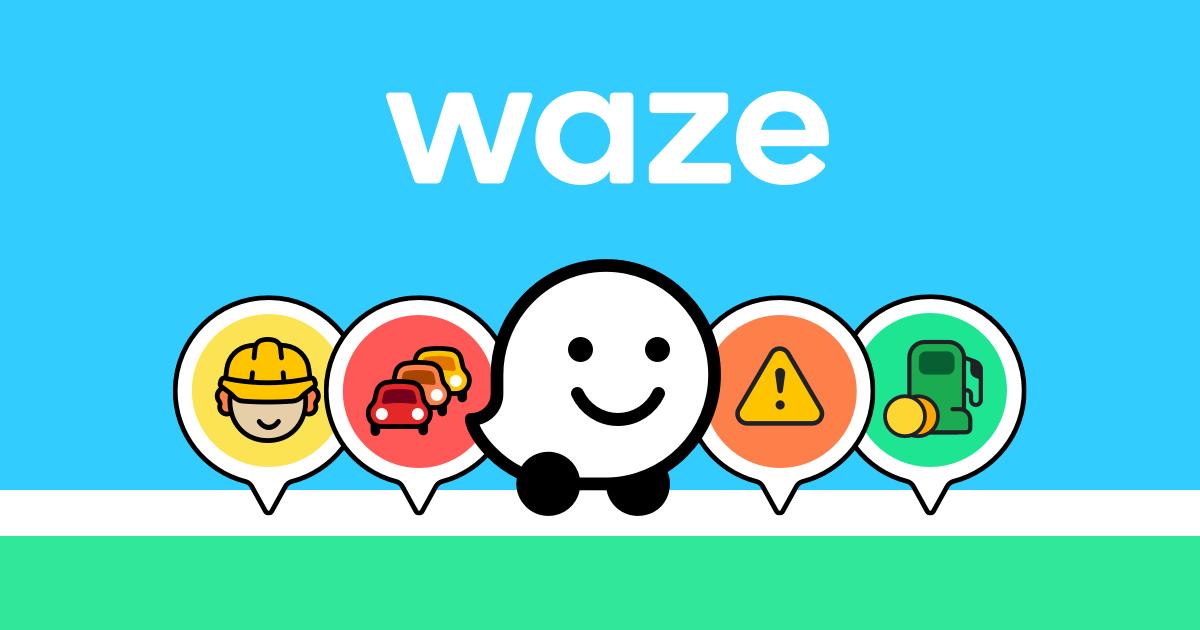 Istruzioni di guida, segnalazioni sul traffico e Carpool di Waze
