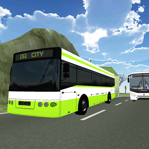 Bus Simulator - Dangerous road 賽車遊戲 App LOGO-APP開箱王
