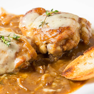 French Onion Chicken.
