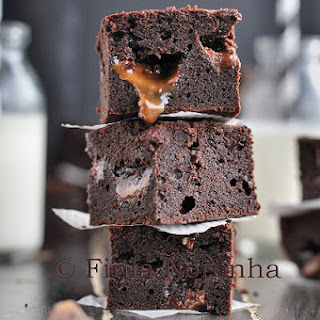 Salted Rolo Brownies