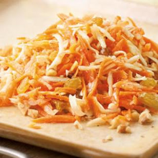 Carrot Salad with Honey-Lemon Dressing