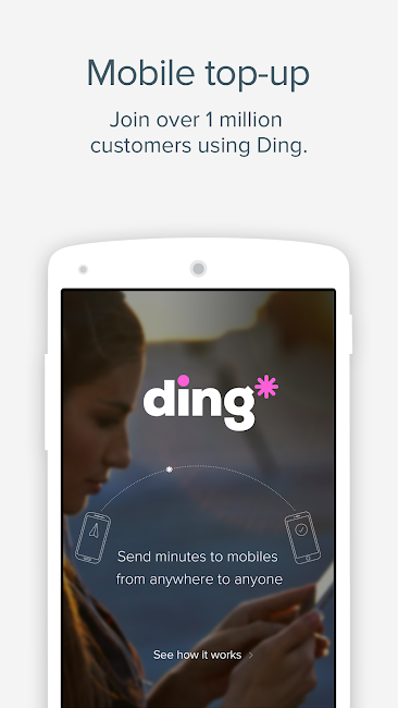 #1. Ding TopUp: Mobile Recharge (Android)