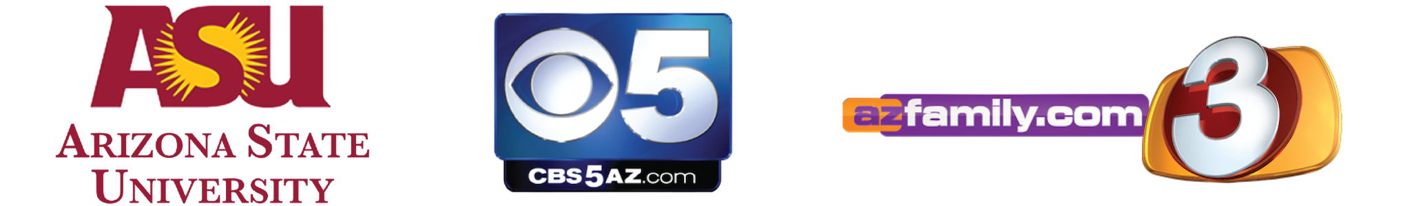 Featured By Arizona State University, CBS 5 AZ, and AZ Family 3