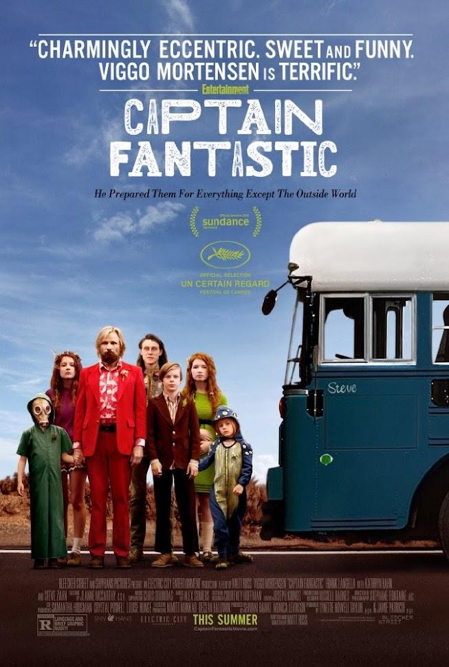 Xem phim Thuyền Trưởng Tuyệt Vời - Captain Fantastic