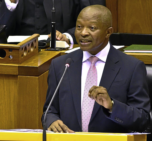 An indirect answer: Deputy President David Mabuza told MPs on Wednesday that the ratings agencies had at no stage raised concerns about the central bank. Picture: GCIS