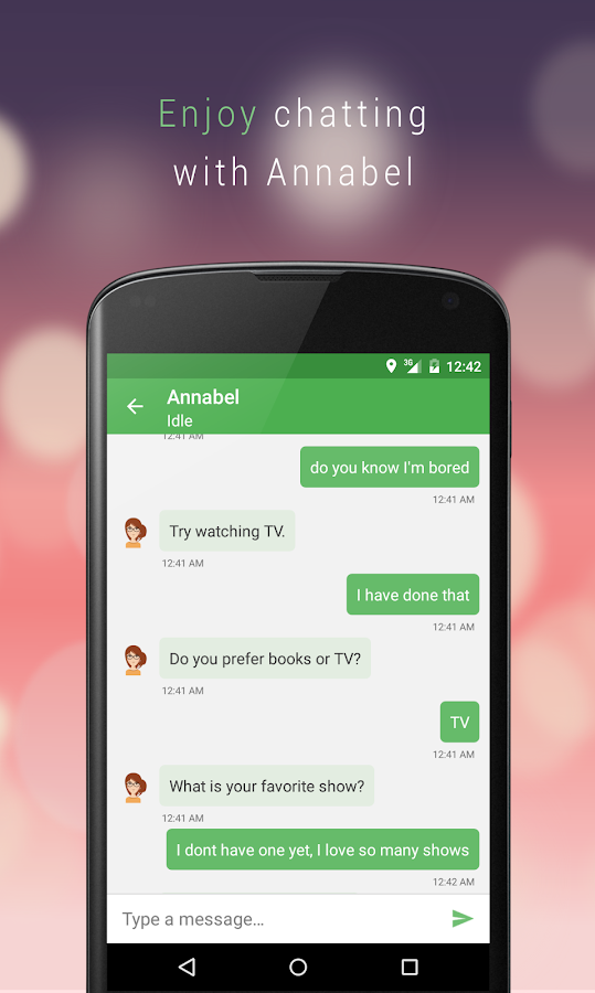 Chat with Annabel- screenshot