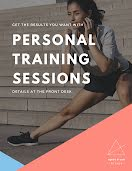 Personal Training Sessions - Flyer item