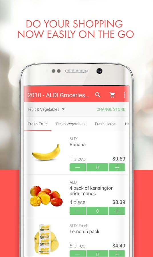 ShopWings Online Supermarket- screenshot