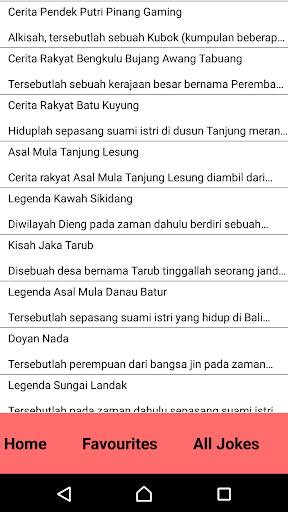 Dongeng Legenda Rakyat
