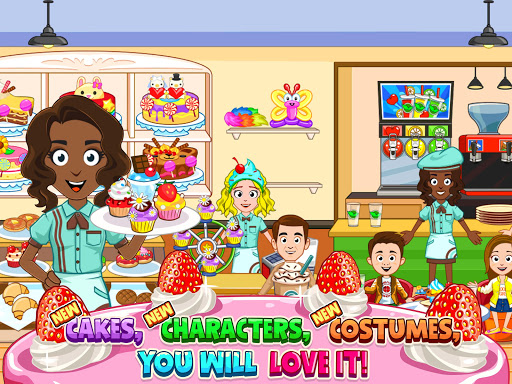 My Town : Bakery & Cooking Kids Game android2mod screenshots 8