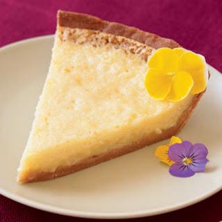 Lemon Buttermilk Pie