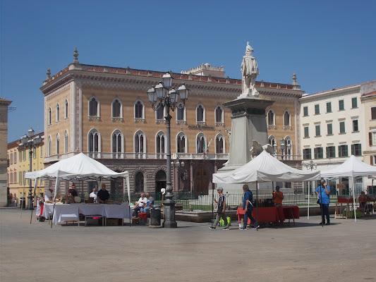 Bancarelle in Piazza di Pretoriano