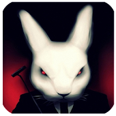 Evil Rabbit Devilish Wallpaper