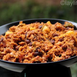 Relleno De Pavo Or Turkey Stuffing.