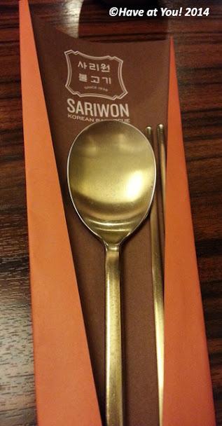 Sariwon dining utensils