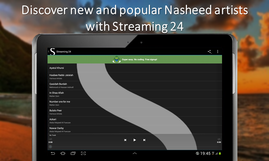 NashStream- screenshot