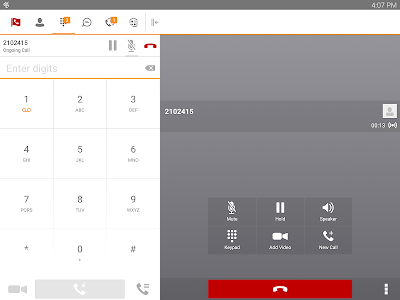 TDS managedIP Hosted Tablet UC screenshot 10