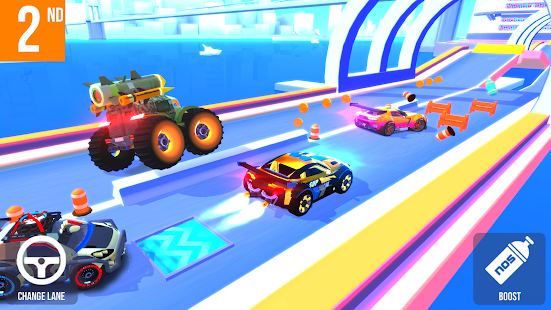 ApkMod1.Com SUP Multiplayer Racing + (Mod Money) for Android Game Racing