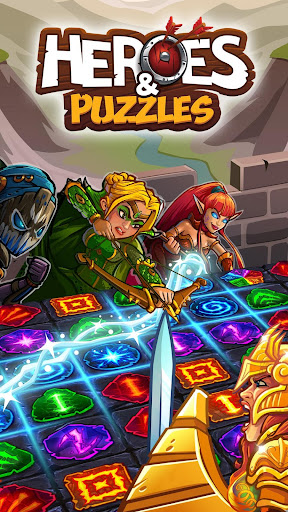 Télécharger Heroes and Puzzles APK MOD 1
