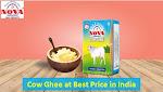 Buy Pure Cow Ghee at Best Price in India   Nova Dairy
