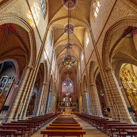 catedral pamplona by -. Phœnix .- - Buildings & Architecture Places of Worship ( pamplona, catedral,  )