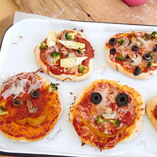 Make-Your-Own Mini Pizzas.