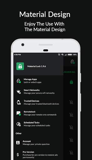 Material Lock - Applock & Fingerprint Lock 2.5.0 gameplay | AndroidFC 5