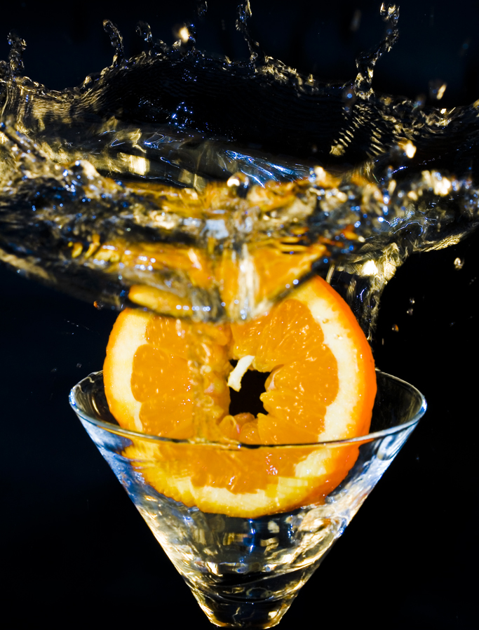 Orange splash di caremaz