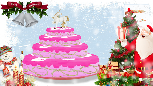 Yummy Merry Christmas Party Cake - Girls Games 1.5 screenshots 1
