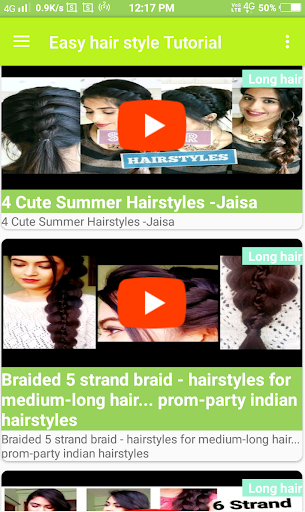 Easy Hair Style Videos Tutorial Step By Step Apk Download Apkpure