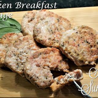 Chicken Breakfast Sausage.