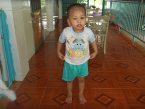 Photo: Nguyen Si Dinh (male) - DOB 6/29/2014 - He was left at Ho Nai Church when he was about 1.5 month-old and taken to Thien Binh Orphanage. He is happy child, loves to laugh.