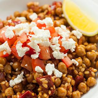 Chickpea Mediterranean Rice Recipe
