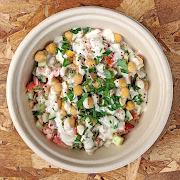 Chickpea & Tahini Salad